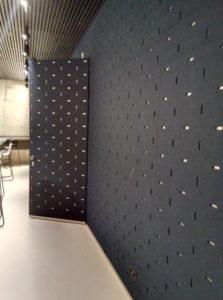 Forum Groningen akoestische panelen
